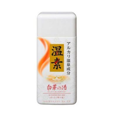 アース製薬 温素 入浴剤 白華の湯