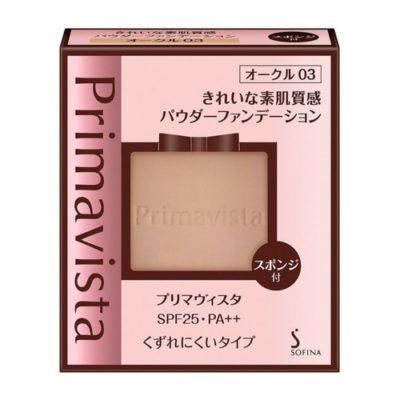 プリマヴィスタ きれいな素肌質感パウダーファンデーション オークル03 SPF25 PA++