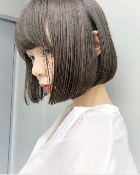 【40代髪型】「ベース型」の人におすすめボブ・ヘアスタイル|ヘアカタログLALA[ララ]