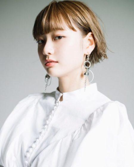 野元 亮太|CIECA. ワイドバング切りっぱなしボブ