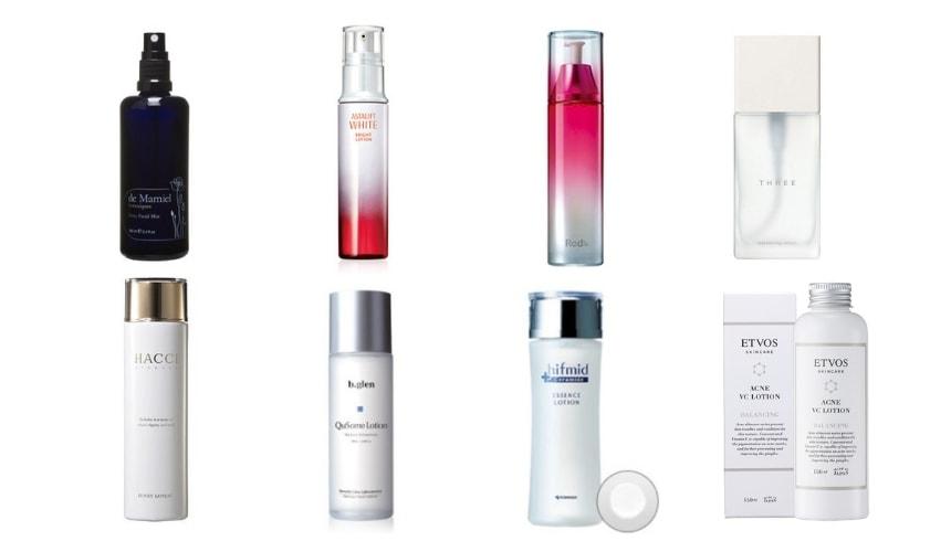 50代におすすめの「化粧水」人気ランキング