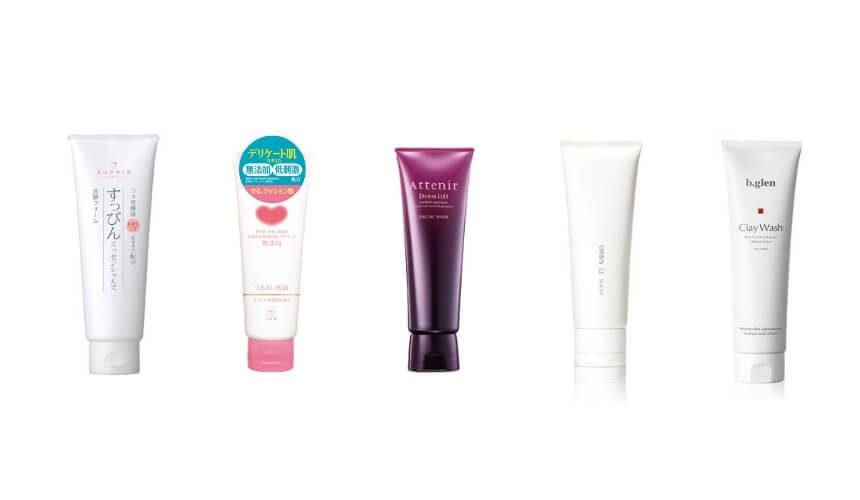 敏感肌におすすめの洗顔料ランキング
