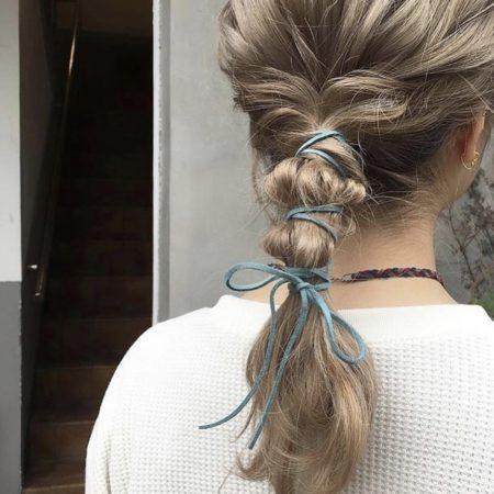 Onion ponytail