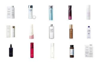 化粧水おすすめ人気ランキング15選:年代別に紹介