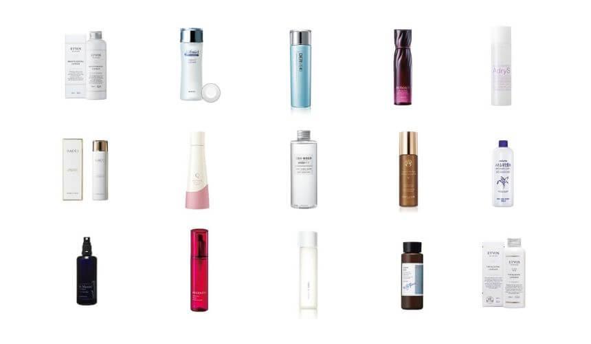 化粧水おすすめ人気ランキング