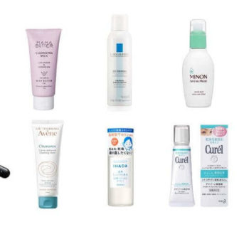 Cosmetics ranking for sensitive skin