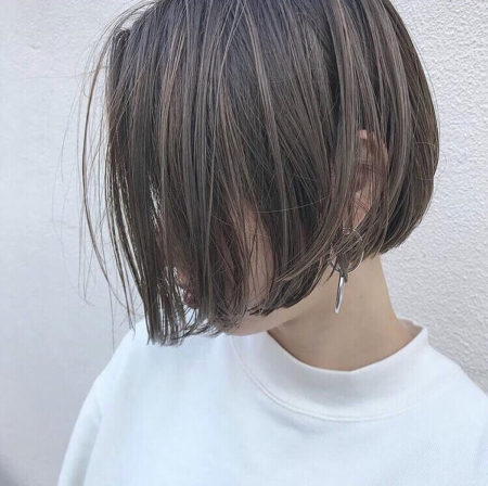 前髪なし ショート