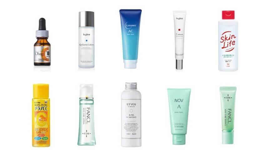 ニキビ肌向け化粧品のおすすめ人気ランキング