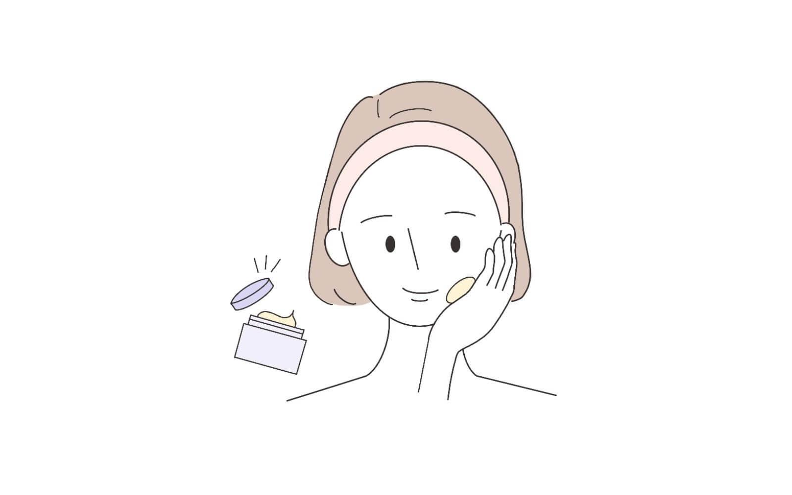 手順⑦洗顔後はすぐに保湿しよう