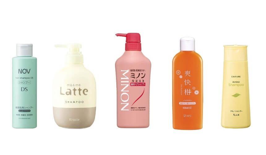 【敏感肌美容師が選ぶ】低刺激シャンプーおすすめ人気ランキング