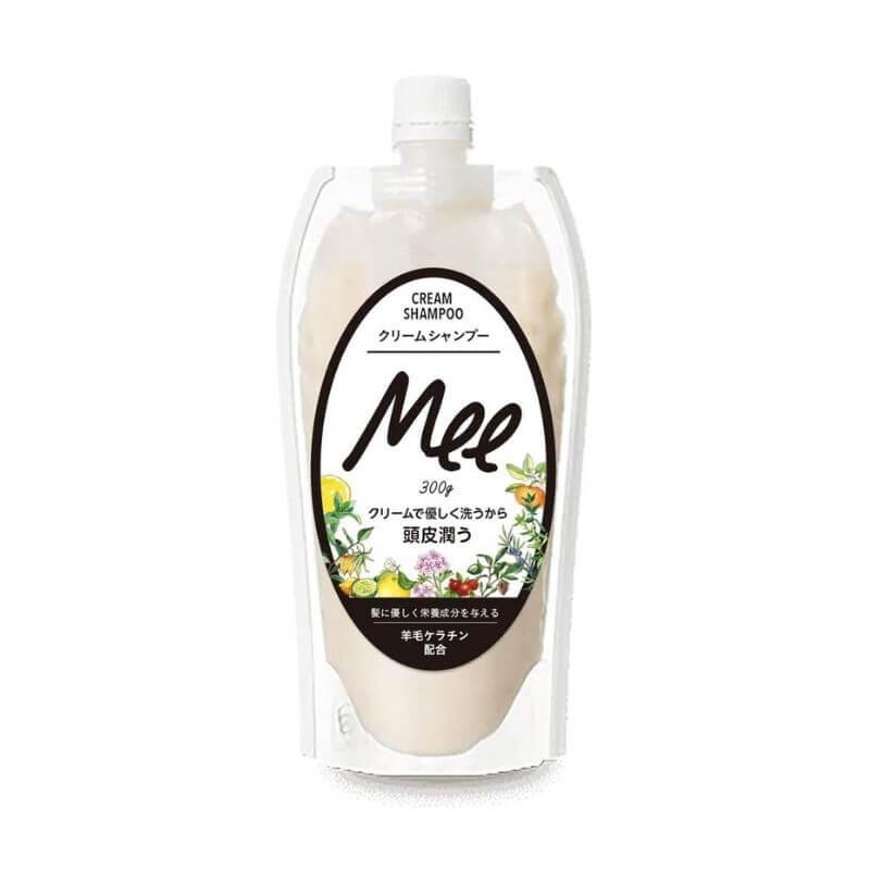 洗えるヘアトリートメント Mee クリームシャンプー