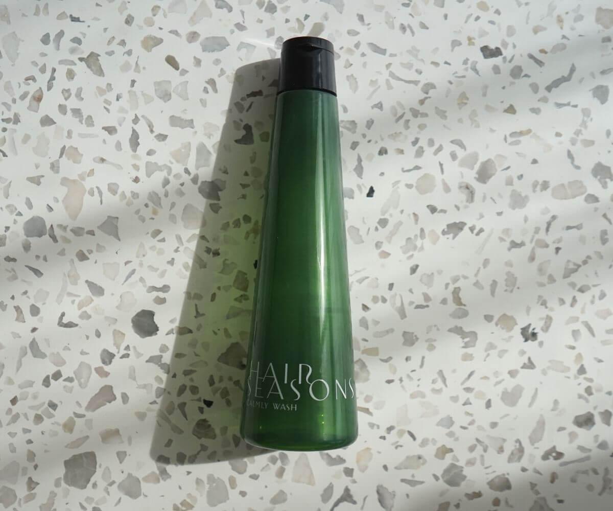 デミ ヘアシーズンズ カームリーウォッシュのボトルデザイン