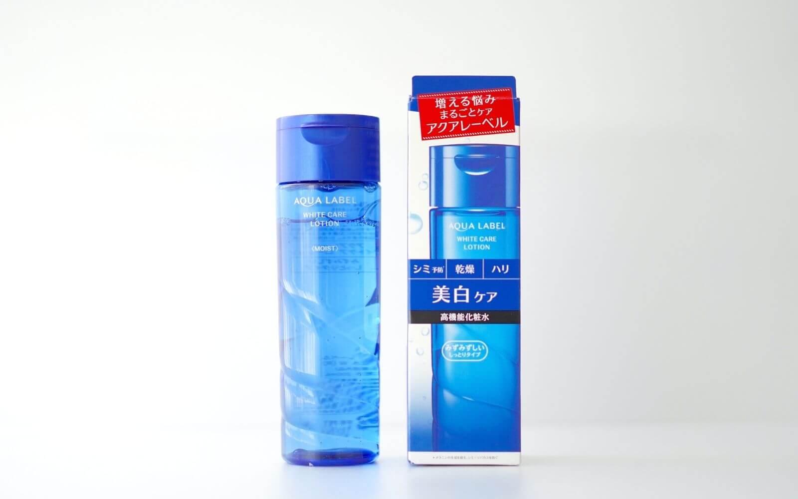 口コミ】アクアレーベル ホワイトケア ローション M 青の美白化粧水を実際に使って正直レビュー   LALA MAGAZINE [ララ マガジン]