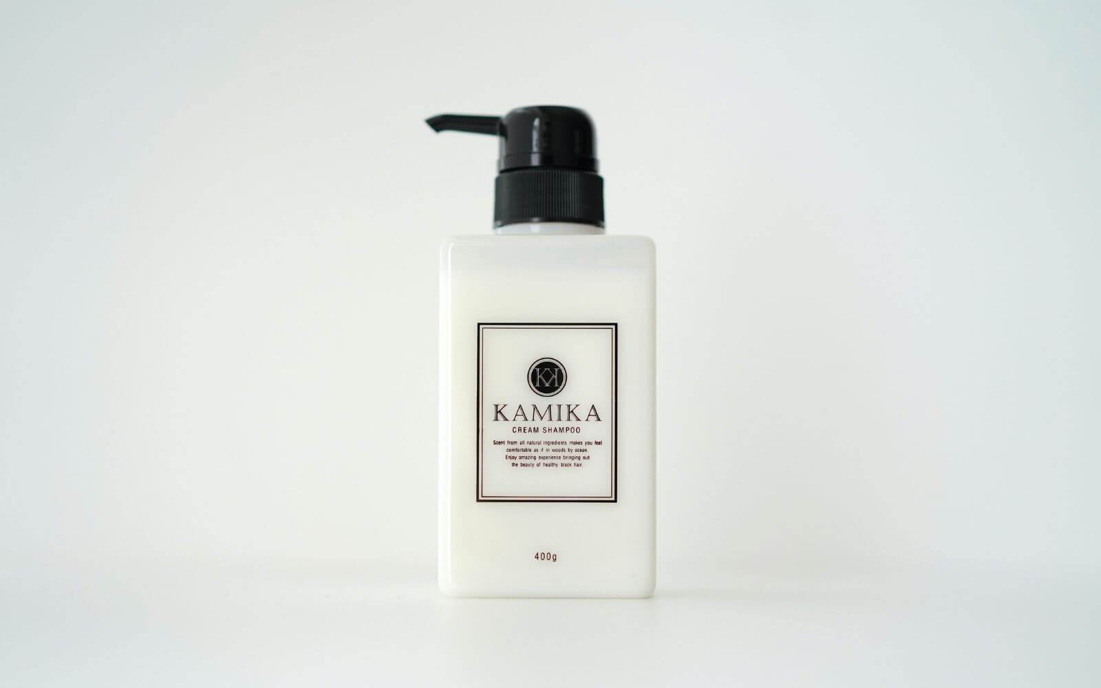 KAMIKA 黒髪クリームシャンプーの基本情報