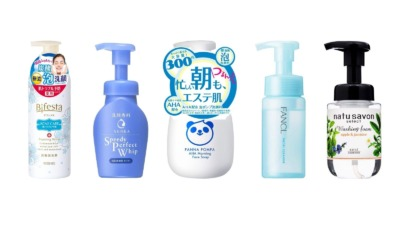 朝洗顔におすすめの洗顔料人気ランキング
