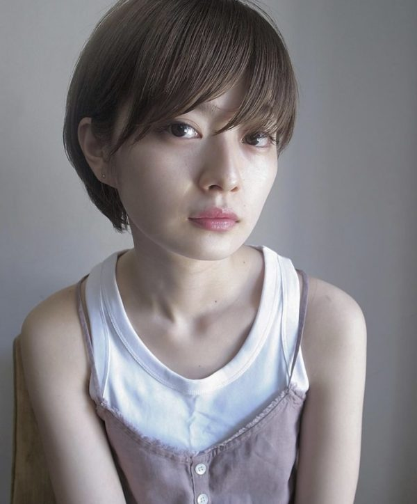 甘すぎないけど女性らしいショートヘア|ピープル(people)磯部 忠勝のヘアスタイル画像