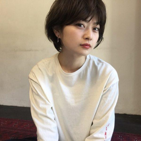 ナチュラルマッシュショート|ピープル オモテサンドウ(people omotesando)椎 健太郎のヘアスタイル画像
