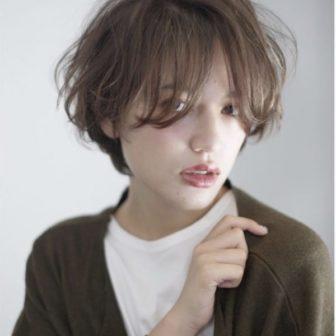 外国人風 透明感ショートボブ|【people】椎 健太郎