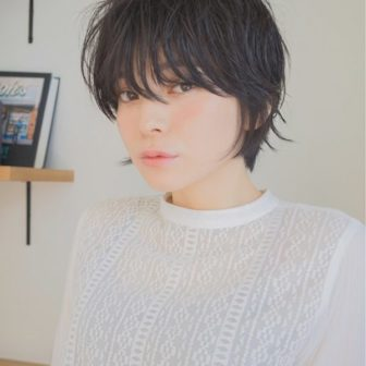 大人ショート|美容室【NOESALON】SOBUEのヘアスタイル