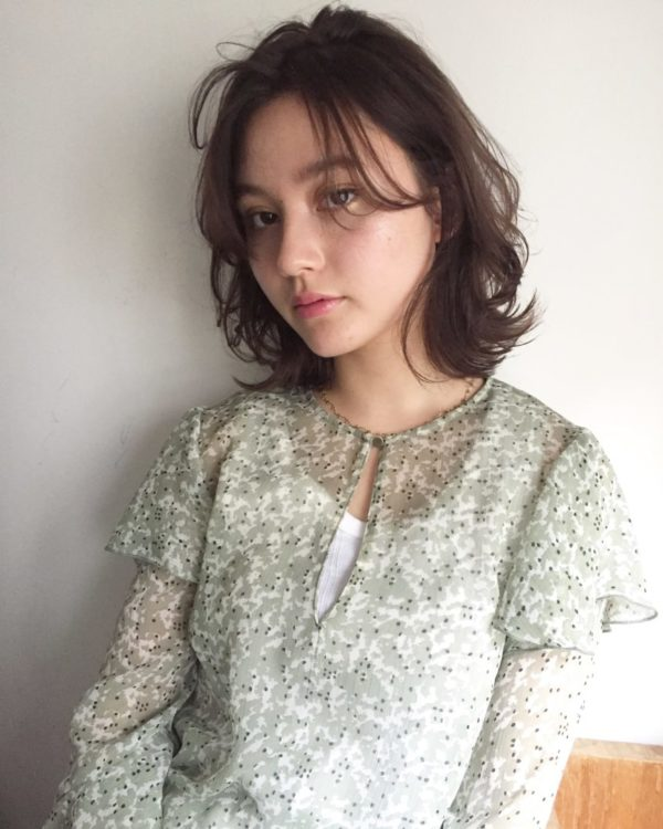軽やかなレイヤーボブ|美容室【salon dakota】MAI