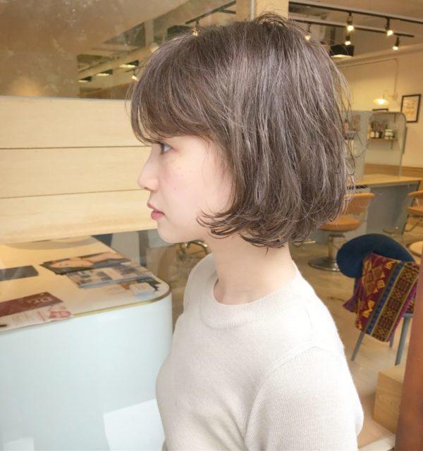 ショートスタイルも女性らしく|名古屋 栄の美容室ノエサロン(NOE SALON)スタイリストSOBUEのヘアスタイル