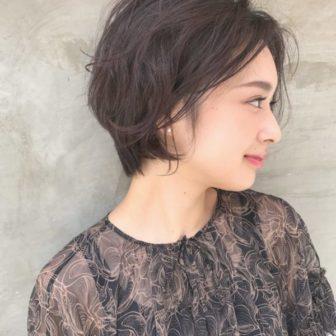 ショートスタイルも女性らしく☆|美容室【NOESALON】SOBUE