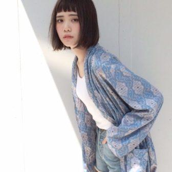 アーバンボブ。 美容室【log】馬橋 達佳のヘアスタイル