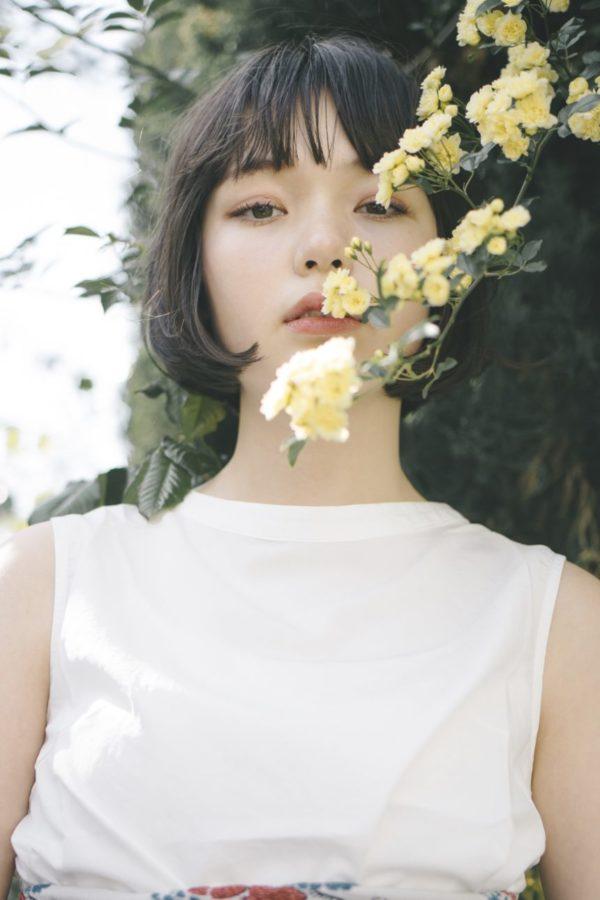ワンレンアゴラインボブ 美容室【CIECA.】野元亮太