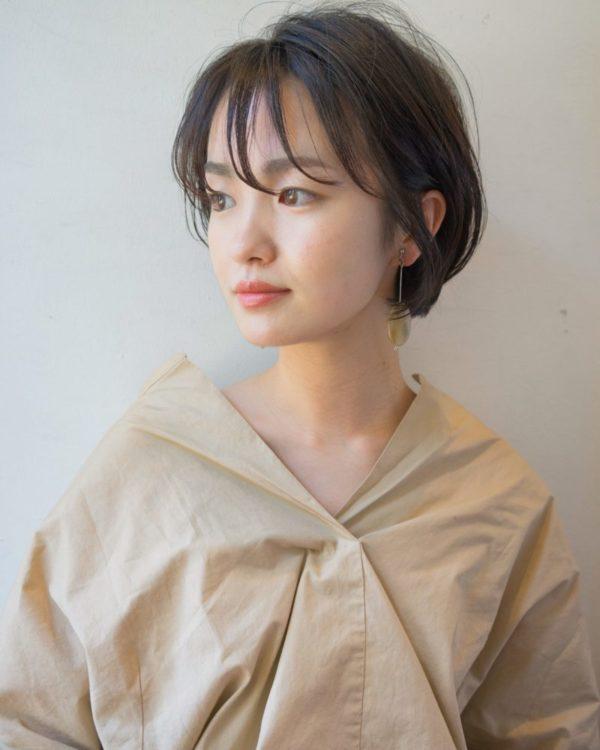 カジュアルオフィスショート|美容室【NOESALON】SOBUEのヘアスタイル画像