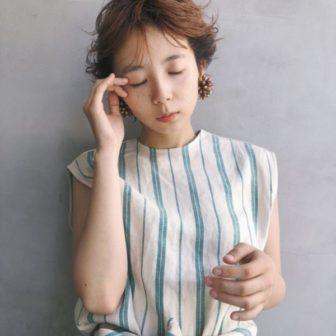 フェザーショート|美容室【CIECA.】野元 亮太のヘアスタイル