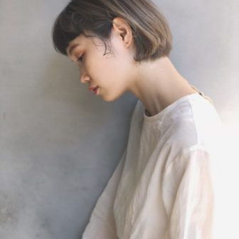 ハイトーンボブ|美容室【CIECA.】野元 亮太のヘアスタイル