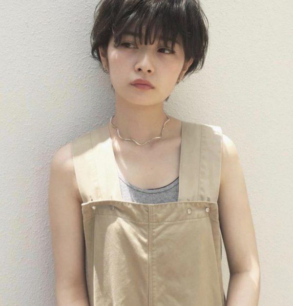 カーキアッシュショート|ピープル オモテサンドウ(people omotesando)椎 健太郎のヘアスタイル画像