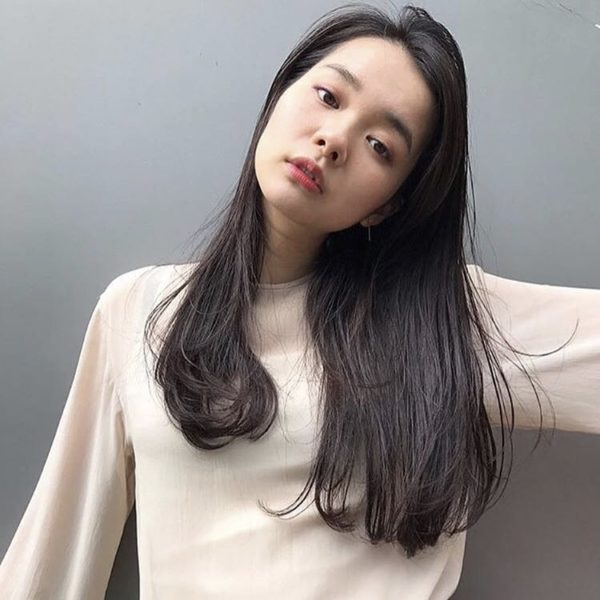 素髪ロング|美容室【salon dakota】村瀬 倫子のヘアスタイル