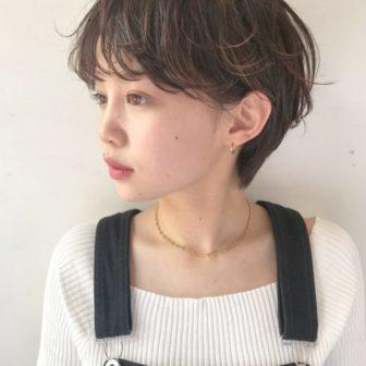 ナチュラルなショートもオシャレに☆|美容室【NOESALON】SOBUEのヘアスタイル