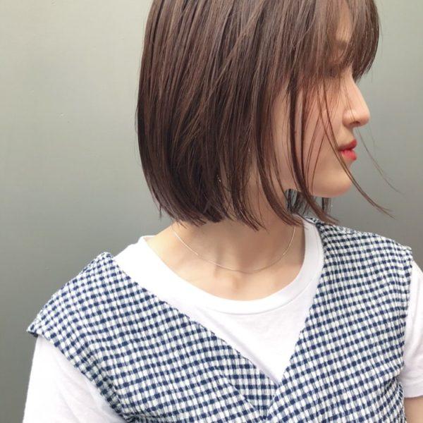 束感ボブ|美容室【salon dakota】村瀬 倫子のヘアスタイル