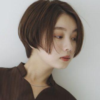 センターパートショート|美容室【CIECA.】野元 亮太のヘアスタイル