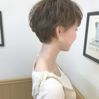 外国人風パーマでおしゃれさUP|美容室【NOESALON】SOBUEのヘアスタイル
