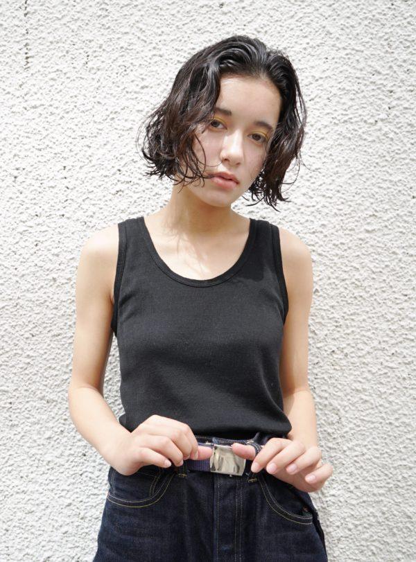 くせっ毛のような優しいパーマ|美容室【nanuk】佐野 正人のヘアスタイル