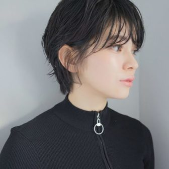 ハンサムショート|美容室【NOESALON】SOBUEのヘアスタイル