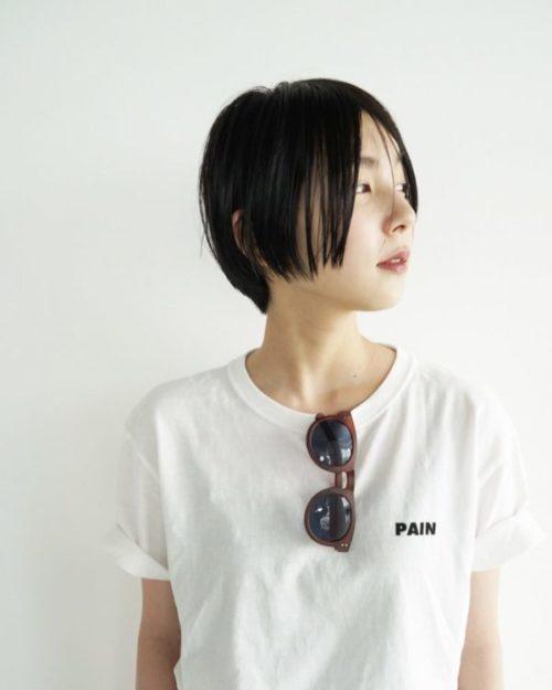 丸みの感じるショートボブ 美容室【nanuk 二子玉川】佐野 正人のヘアスタイル