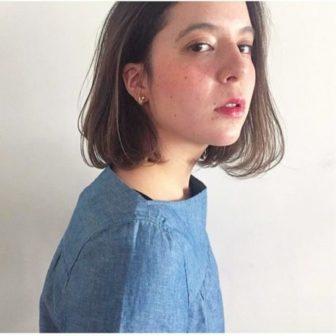 シースルーボブ|美容室【salon dakota】村瀬 倫子のヘアスタイル