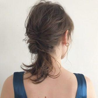 柔らかく見せる簡単アレンジ|美容室【salon dakota】村瀬 倫子のヘアスタイル