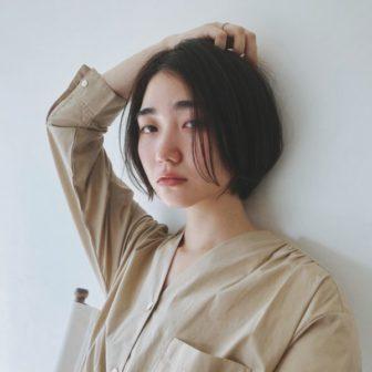 センターパートショートボブ|美容室【CIECA.】野元 亮太のヘアスタイル