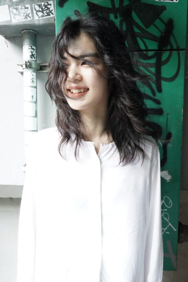 フリンジウェーブ|美容室【nanuk】佐野 正人のヘアスタイル