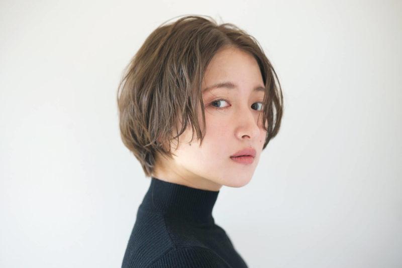 ニュアンスショート 表参道の美容室 ローブ アオヤマ(LOAVE AOYAMA)佐脇 正徳のヘアスタイル