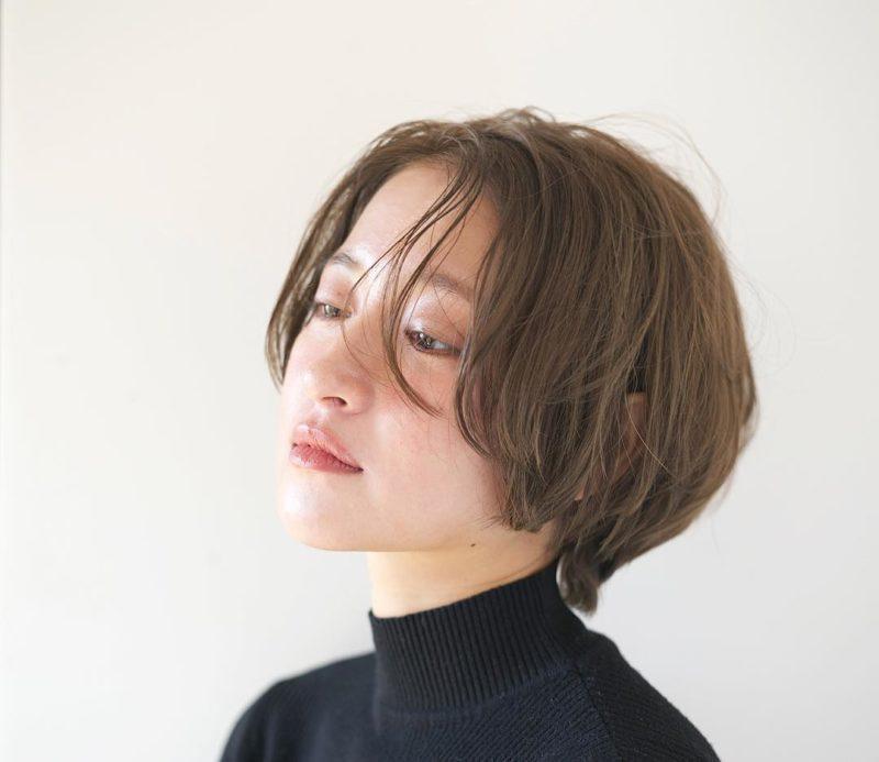 ニュアンスショート|表参道の美容室 ローブ アオヤマ(LOAVE AOYAMA)佐脇 正徳のヘアスタイル