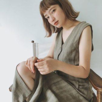 切りっぱなしハイトーンボブ|美容室【CIECA.】野元 亮太のヘアスタイル