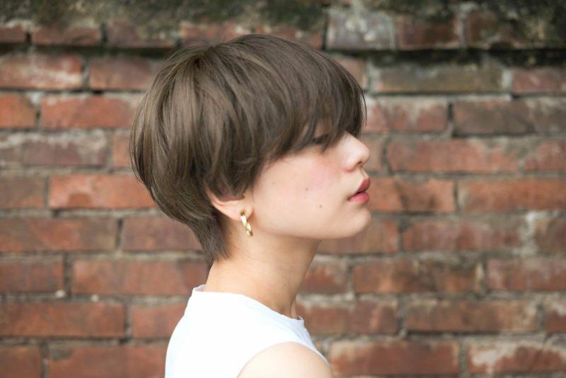 シンプルなマッシュショート|表参道の美容室 ローブ アオヤマ(LOAVE AOYAMA)佐脇 正徳のヘアスタイル