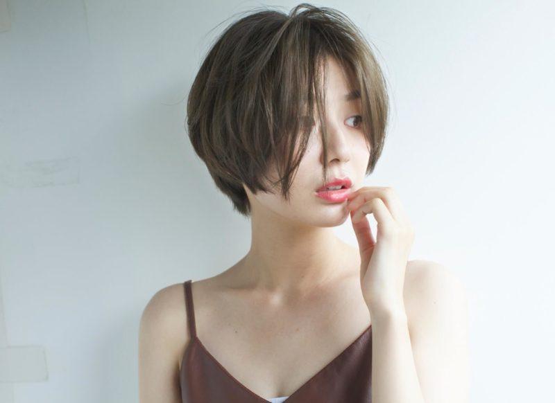 センターパートショートヘア|表参道の美容室 ローブ アオヤマ(LOAVE AOYAMA)佐脇 正徳のヘアスタイル