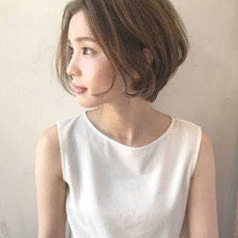 女性らしい大人ショート|名古屋 栄の美容室ノエサロン(NOE SALON)スタイリストSOBUEのヘアスタイル